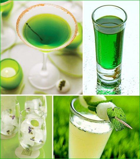 spring green cocktails