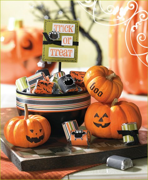 halloween centerpiece craft project