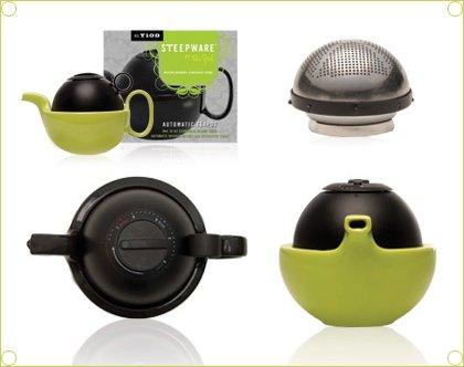steepware modern teapot by the TeaSpot