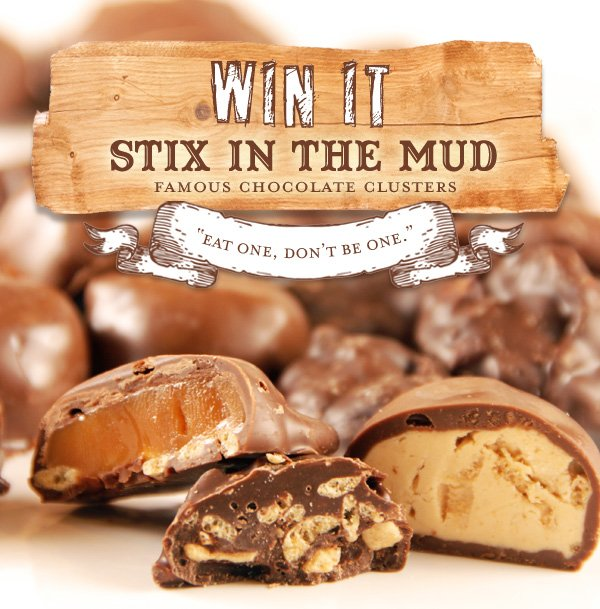 Stix in the Mud Chocolate Clusters