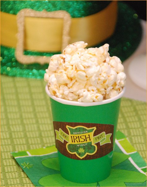 St. Patrick's Day Dessert Party Favors