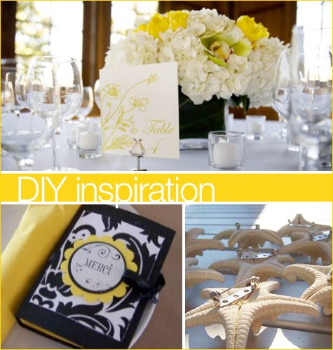 DIY bride projects