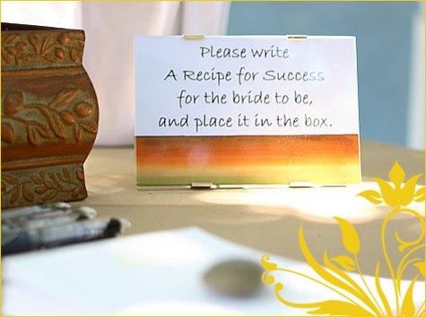 Italian sunflower bridal shower theme