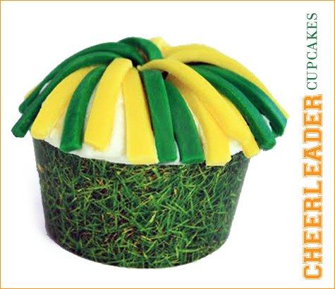 super bowl cheerleader cupcake recipe