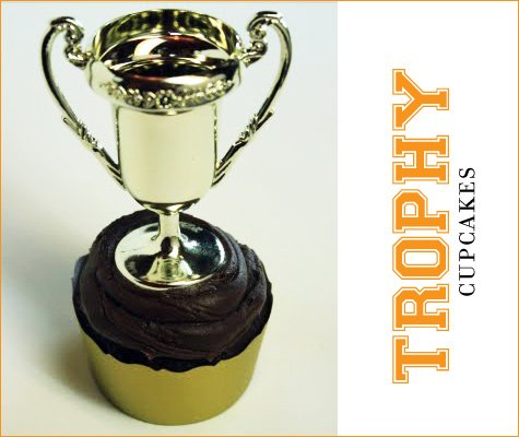 super bowl trophy cupcake recipe