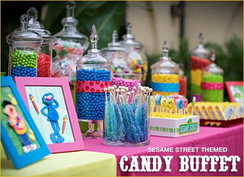 Sweet Factory Candy Buffet