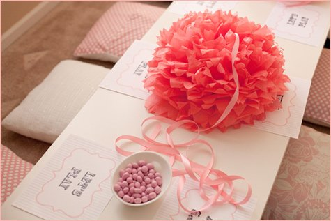 pink sweet shoppe birthday party