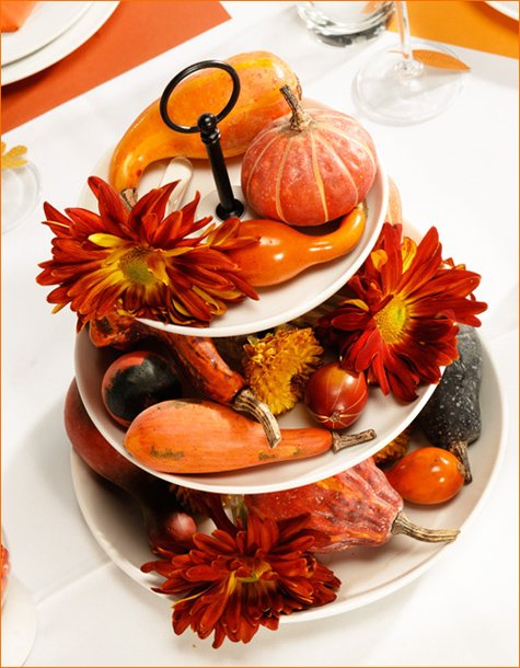 easy thanksgiving centerpiece idea
