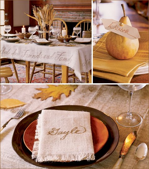 elegant thanksgiving table setting ideas hostess with