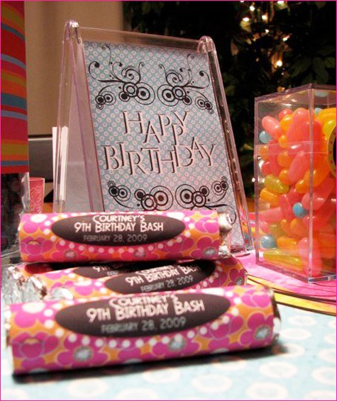tinkerbell girls birthday party