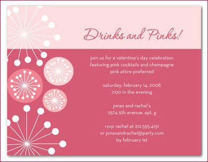valentines day party invitations