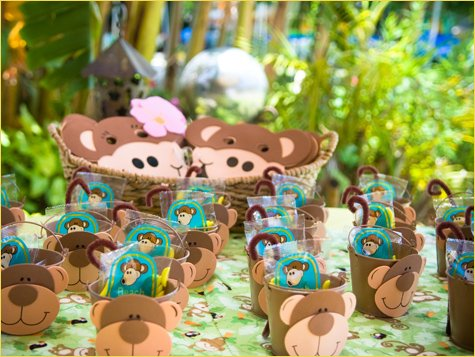 Monkey Birthday Party