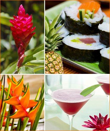 tropical zen hip hostess event