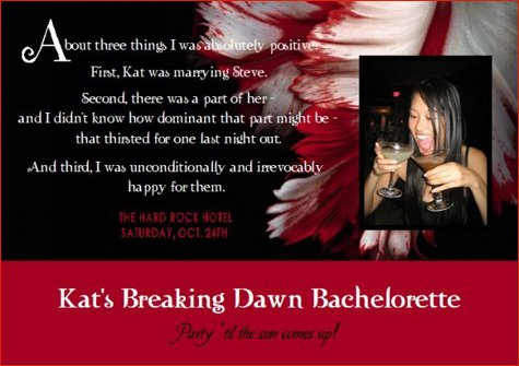Twilght bachelorette party ideas