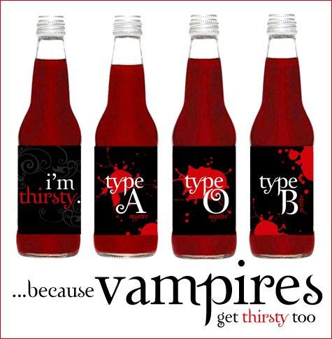 Twilight & vampire party ideas