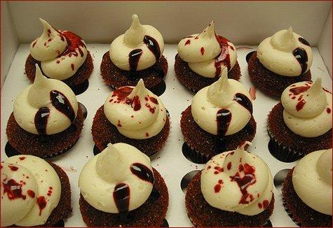 twilight vampire cupcakes