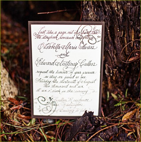 Twilight wedding party ideas
