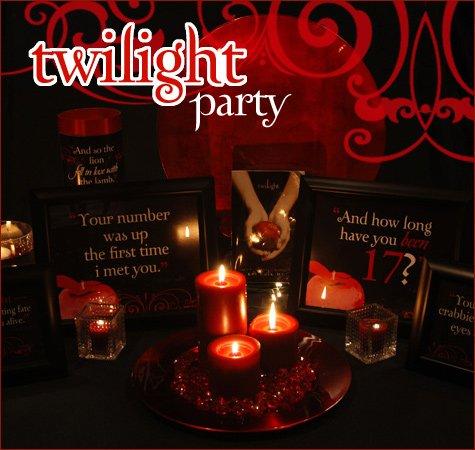 Host a twilight theme party at home hostess with the for Hosting a party at home