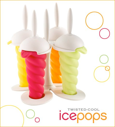 orka twisted popsicle molds