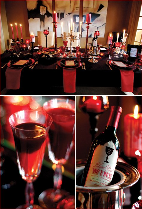 vampire dinner party ideas twilight halloween