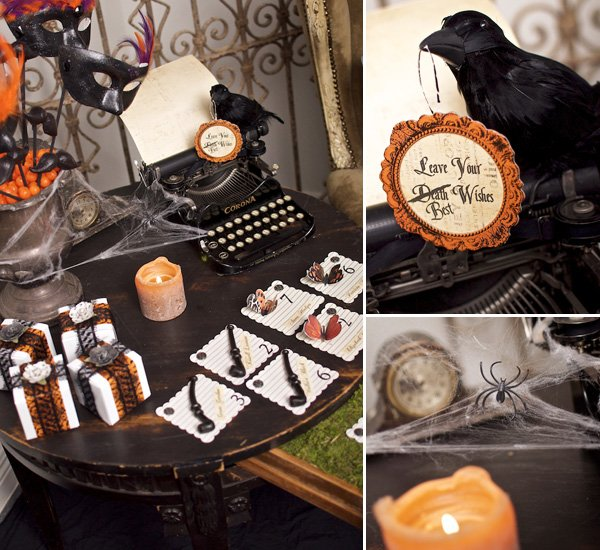 Victorian  Halloween Party Ideas