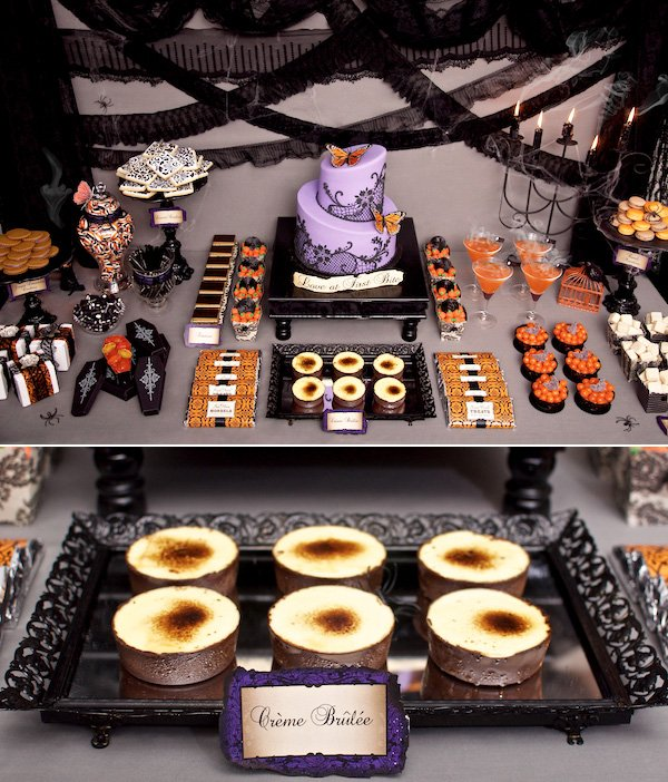 Victorian Halloween Table