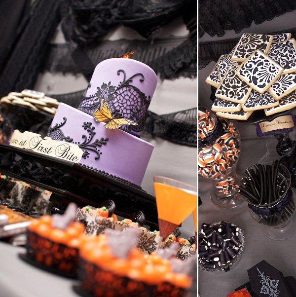 Victorian Halloween Table