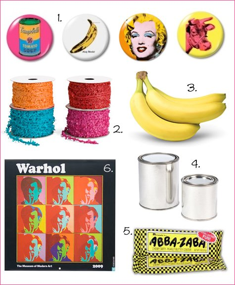andy warhol cocktail party