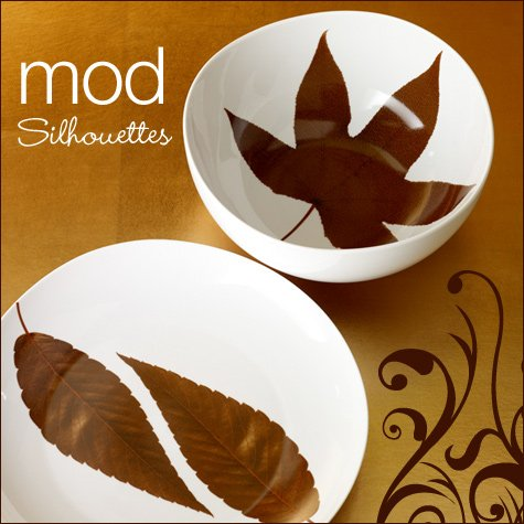 modern fall serving dishes