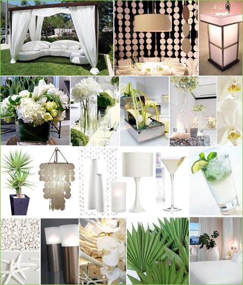 White Party White Wedding Ideas