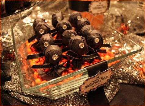 wicked bling halloween party ideas