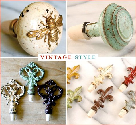 Decorative Wine Bottle Stoppers Cool Gift Idea Creative Wine Bottle Stoppers  Hostess With The Mostess® Decorating Inspiration