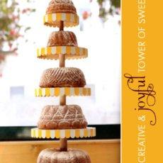 DIY circus cake stand