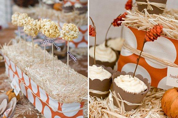 Thanksgiving Fall Party Dessert Bar Ideas