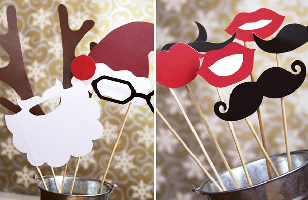 Holiday Photo Booth Accessories