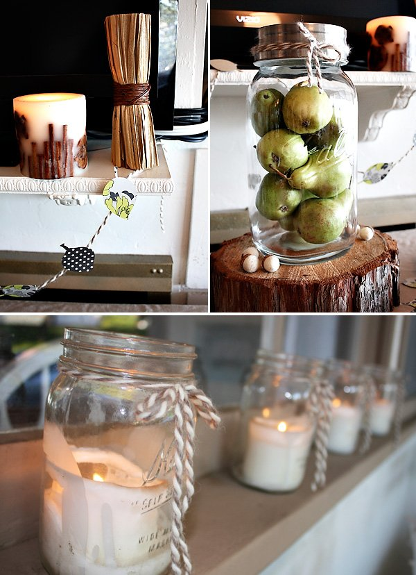 Real parties rustic fall celebration hostess with the