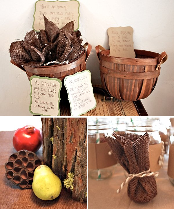 Rustic Thanksgiving Decorating Ideas
