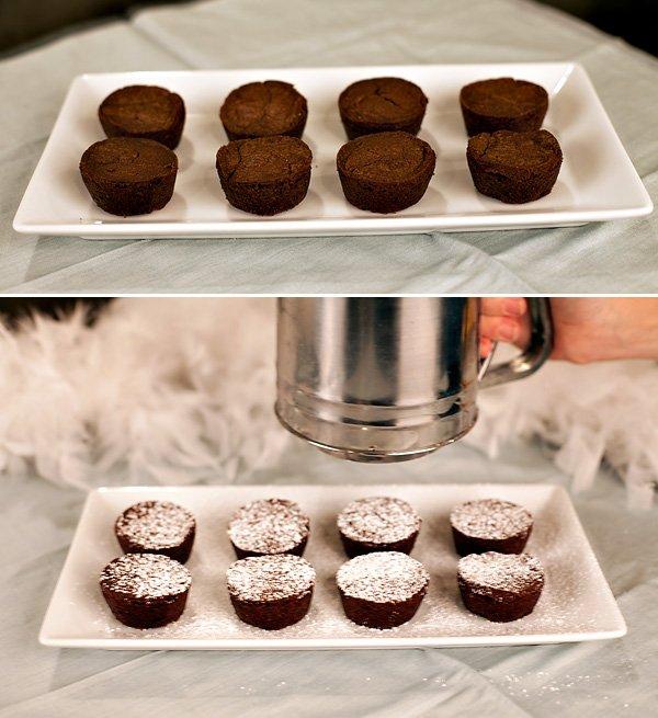 Snowy Meringue Drop Brownies Recipe
