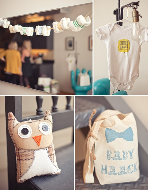 Bow Tie Boy Baby Shower Ideas
