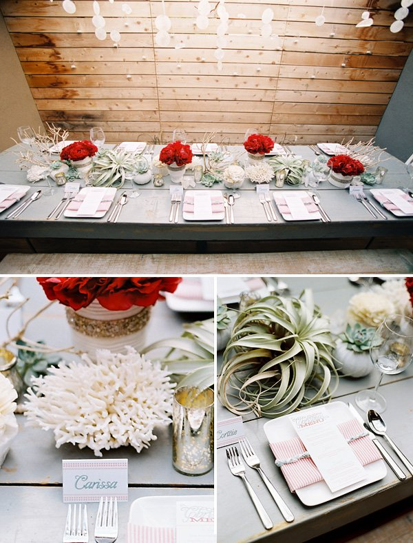 Christmas Dinner Party Wedding Ideas