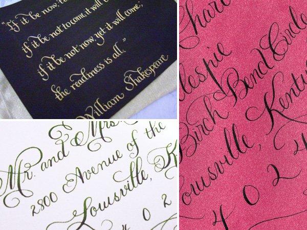 Vendor Spotlight Calligraphy By Jennifer Hostess With