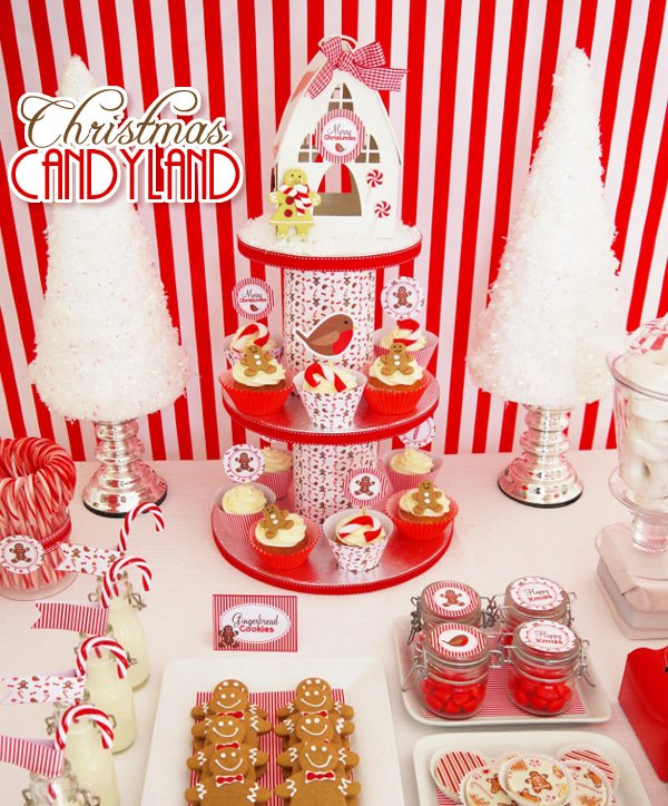 Christmas Candyland Party Ideas