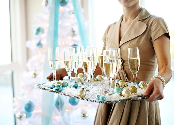 Heavenly Holiday Tiffany Wedding Ideas
