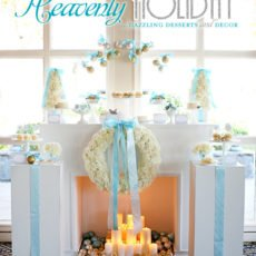 Heavenly Holiday Tiffany Dessert Table