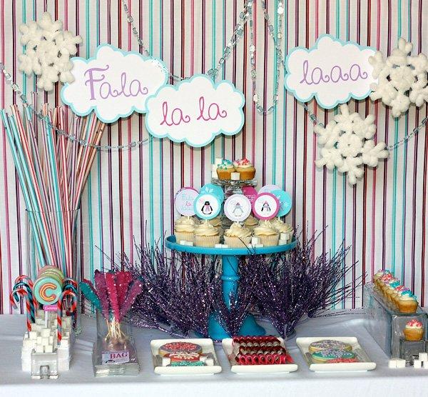 Children Christmas Party Ideas.Fala La La Laaa Kids Christmas Party Hostess With The