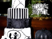 Nightmare Before Christmas Wedding Bridal Shower