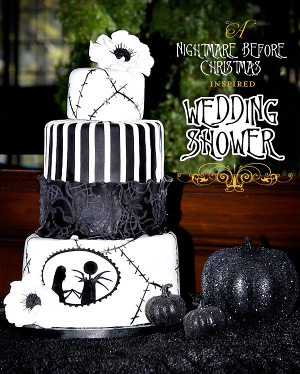 nightmare before christmas wedding bridal shower - Nightmare Before Christmas Wedding Decorations