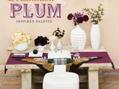 Persimmon and Plum Wedding Party Ideas