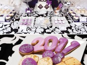 Damask Dessert Table