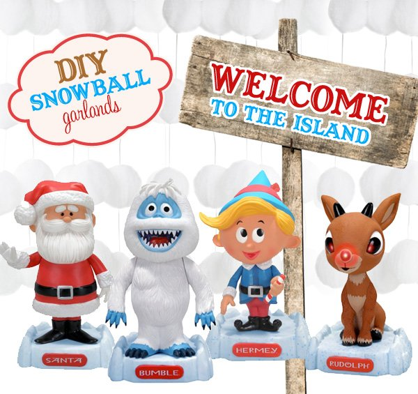 Island Christmas Party Ideas.Inspiration Board Rudolph The Misfit Toys Hostess With